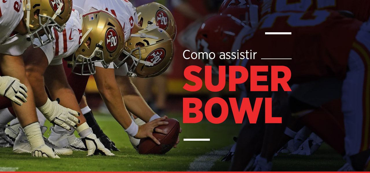 super bowl ao vivo online