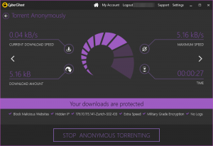 cyber ghost proteção torrent