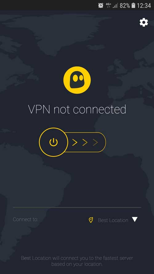 CyberGhost VPN para Android