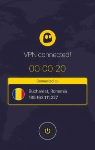 CyberGhost VPN para iOS
