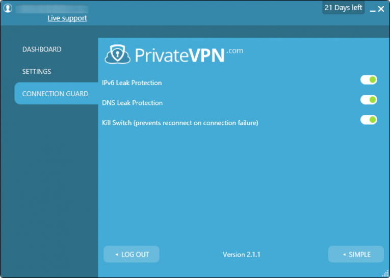 privatevpn configuraçoes android